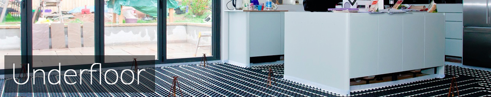 Underfloor heating for kitchens